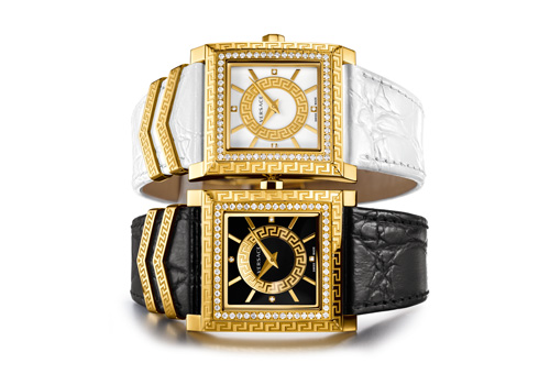 D V 25 - A passionate celebration of Time from Versace watches