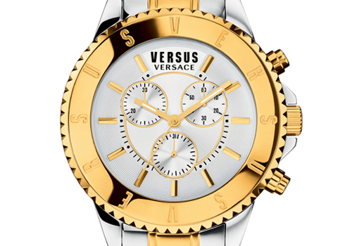 Versus Versace, a more powerful logo