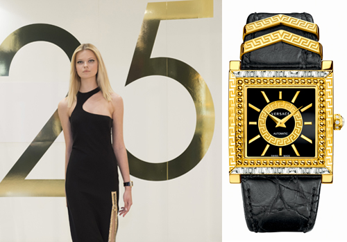 HK, Singapore, LA and Milan - We continue to celebrate Versace Watches 25th anniversary!