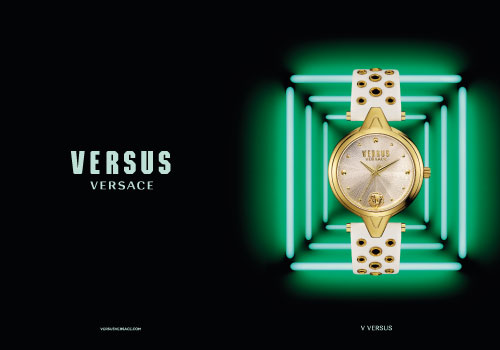 Versus Versace Watch Spring Summer 2016 Advertising Campaign release